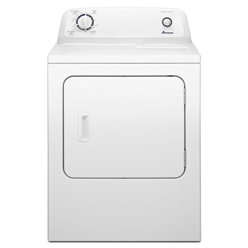 Amana 6.5 C/F Electric Dryer, 11 Cycles, NED4655EW, White