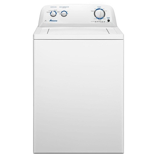 Amana Top Load Washer, 4 C/F Capacity, 8 Cycles, NTW4516FW, White