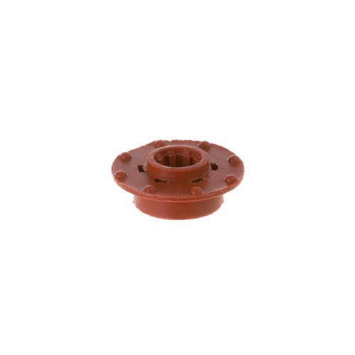 General Electric WR02X12008 Refrigerator Evaporator Fan Grommet, Red