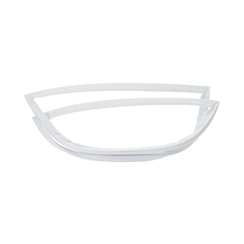 General Electric WR24X10077 Top Freezer refrigerator fresh food compartment door gasket, white color.