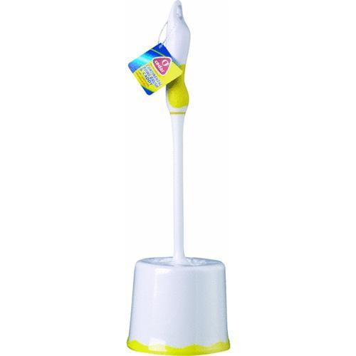F H P-LP O-Cedar Toilet Bowl Brush With Caddy