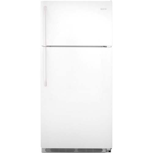 Frigidaire 18 C/F Refrigerator with Top Freezer,  Energy Star, Wire Shelves, No Ice Maker, ADA Compliant, FFTR1814QW, White