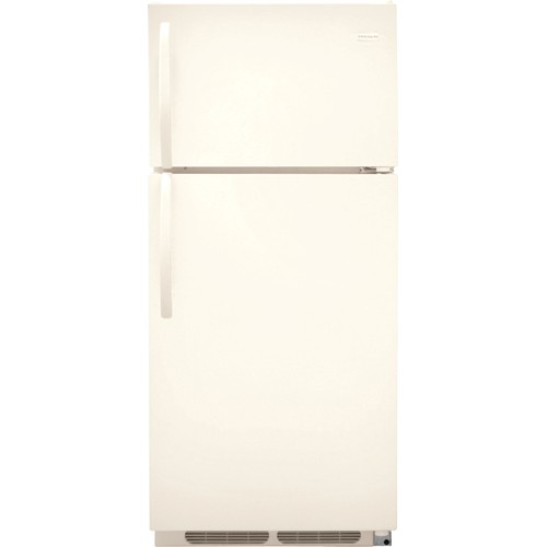 Frigidaire 16 C/F Refrigerator with Top Freezer,  Energy Star, Wire Shelves, No Ice Maker, ADA Compliant, FFHT1614QQ, Bisque