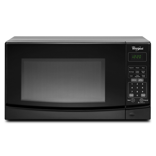 Whirlpool Microwave .7  C/F, Countertop, WMC10007AB, Black