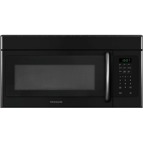 Frigidaire Microwave 1.6 C/F, Over-The-Range, FFMV162LB, Black