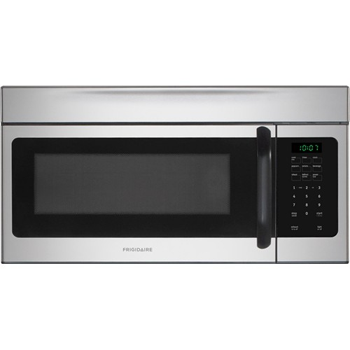 Frigidaire Microwave 1.6 C/F, Over-The-Range, FFMV162LM, Silver Mist