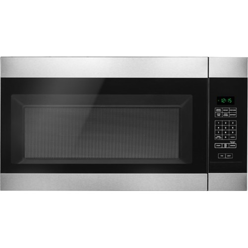 Amana Microwave 1.6 C/F  Over-The-Range, 1000 Watts, 2 Speed, 300 CFM Vent, AMV2307PFS, Stainless Steel