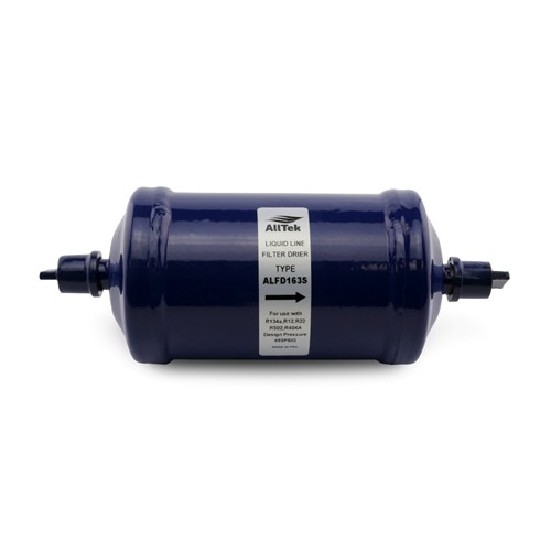 "AllTek Liquid Line Filter Drier, Unit Size 16 Cubic Inch, 3/8"" ODF Connection"