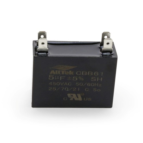 AllTek Mini-Split Run Capacitor 5.0 MFD X 450VAC