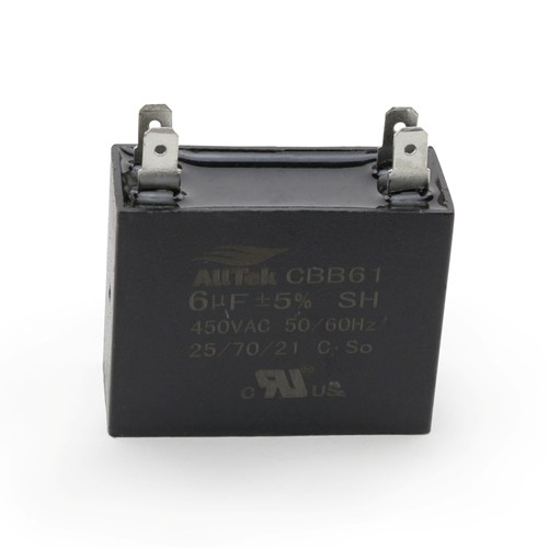 AllTek Mini-Split Run Capacitor 6.0 MFD X 450VAC