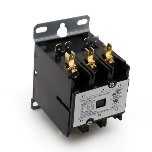 AllTek  Contactor 30A 240VAC 3 Pole