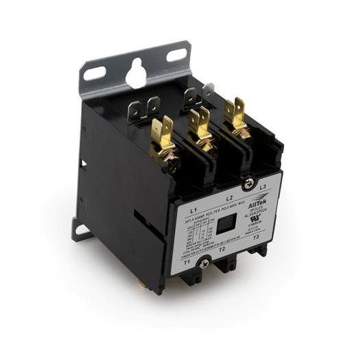 AllTek  Contactor 30A 24VAC 3 Pole