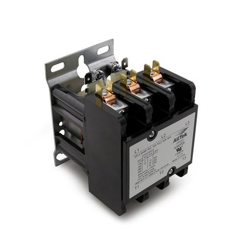 AllTek  Contactor 50A 24VAC 3 Pole