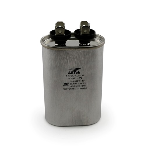 AllTek Oval Run Capacitor  12.5 MFD x 370/440V