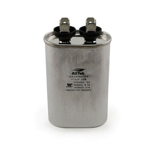 AllTek Oval Run Capacitor  17 MFD x 370/440V