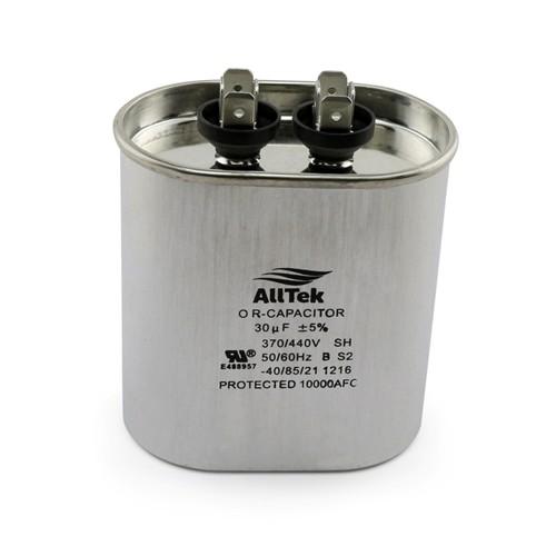 AllTek Oval Run Capacitor  30 MFD x 370/440V