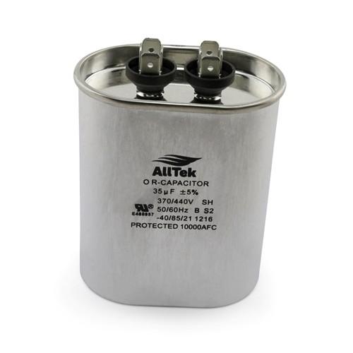 AllTek Oval Run Capacitor  35 MFD x 370/440V