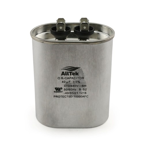 AllTek Oval Run Capacitor  40 MFD x 370/440V