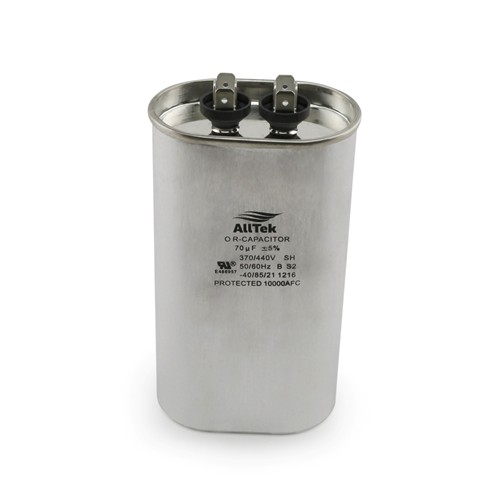 AllTek Oval Run Capacitor  70 MFD x 370/440V