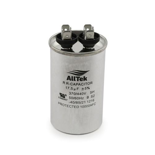 AllTek Round Run Capacitor  17.5 MFD x 370/440V