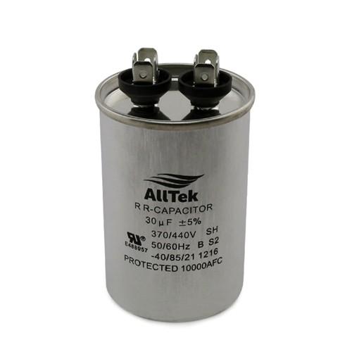 AllTek Round Run Capacitor  30 MFD x 370/440V
