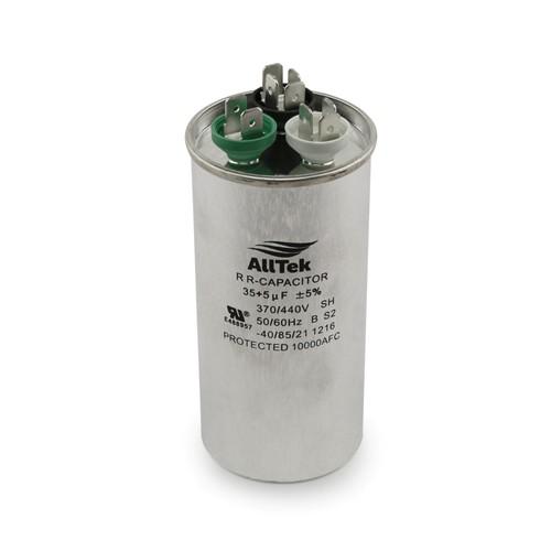 AllTek Round Run Capacitor  35 + 5 MFD x 370/440V