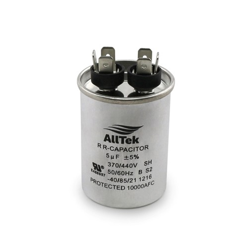 AllTek Round Run Capacitor  5 MFD x 370/440V