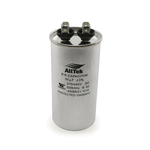 AllTek Round Run Capacitor  50 MFD x 370/440V