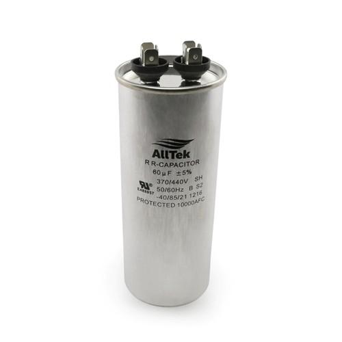 AllTek Round Run Capacitor  60 MFD x 370/440V