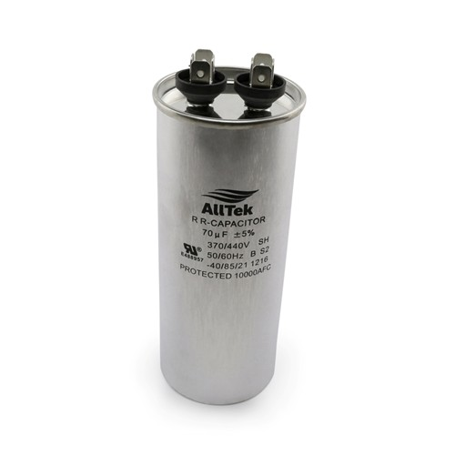 AllTek Round Run Capacitor  70 MFD x 370/440V