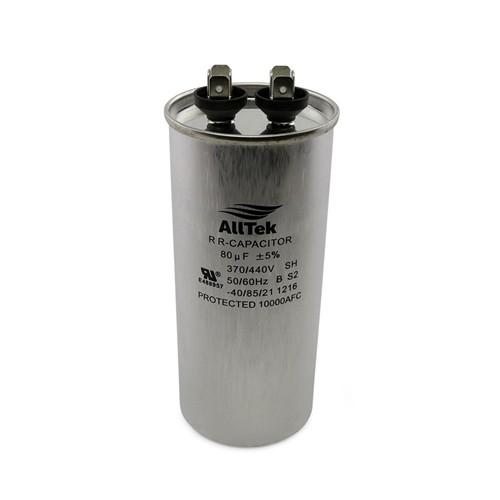 AllTek Round Motor Run Capacitor 370-440 VAC