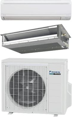 Daikin R-410A LV Series High-Efficiency Slim-Duct & Wall-Mount Ductless Systems