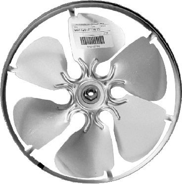 Lau Industries Aluminum Two-Blade, Fixed Hub Propeller
