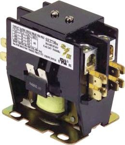 Smart Electric Contactor 30A 120V Coil 2-Pole Definite Purpose