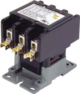 Smart Electric Contactor 50A 240V Coil 3-Pole Definite Purpose
