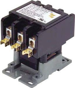 Smart Electric Contactor 50A 24V Coil 3-Pole Definite Purpose