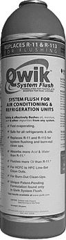 Qwik Products Qwik System Flush® Refrigeration Flush, Qwik-SF System Flush