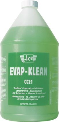 Altantic Chemical Coil Cleaner, 1 gal Evap-Klean