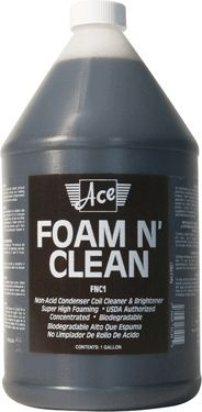 Altantic Chemical Coil Cleaner; 1gal Foam-N-Clean