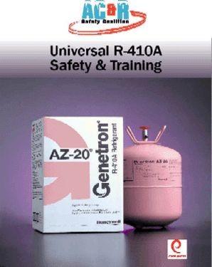 Esco Institute Manual, R410 Universal Safety & Training