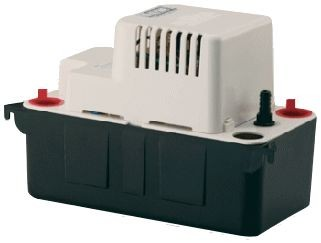 Little Giant Pumps Pump, 115v 20'Shutoff VCMA Auto Condensate Safety Swtch