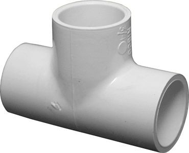 PVC Schedule 40 Fittings PVC Tee, 3/4