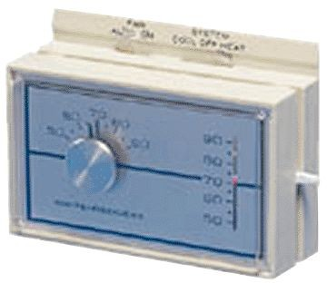White-Rodgers Thermostat, 1-Stage Heat/Cool Horizontal-Mount Universal