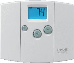 Climate Technology Corp (CTC) Thermostat, 20-30VAC 50/60Hz Digital Heat/Cool