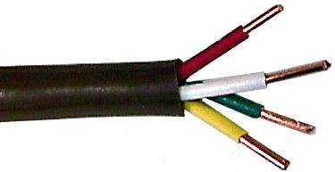 Motors and Armatures Wire, 18ga 500' Thermostat 2 Conductor