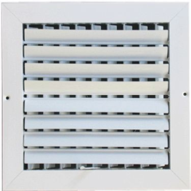 Metallum Enterprises 2-Way Ceiling Grille - Multi-Louver
