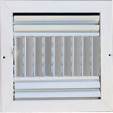 Metallum Enterprises 3-Way Ceiling Grille - Multi-Louver
