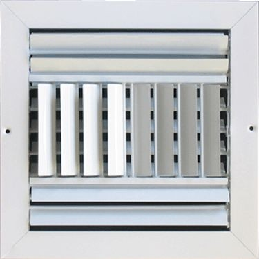 Metallum Enterprises 4-Way Ceiling Grille - Multi-Louver