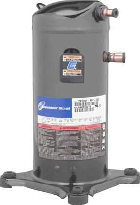 Copeland Compressor, 48mbtu R-22 230/1 Scroll Mineral ZR48K5-PFV-800