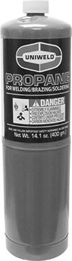 Uniweld Products Inc Cylinder, 16oz Mapp 3